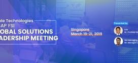 SAP FSI Global Solutions Leadership Meeting